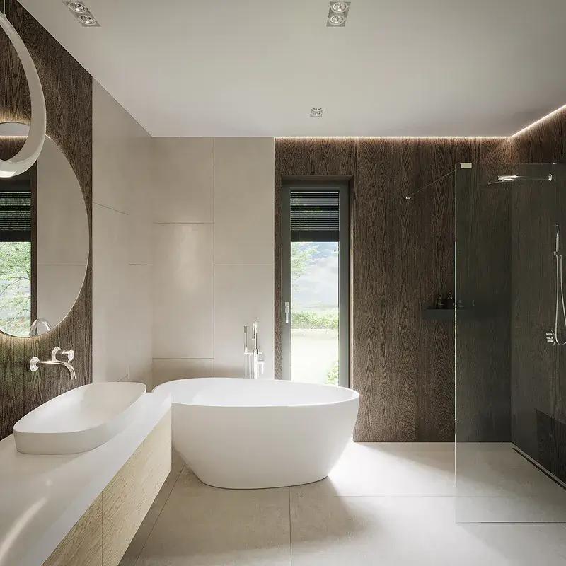 Leśne Tarasy łazienka